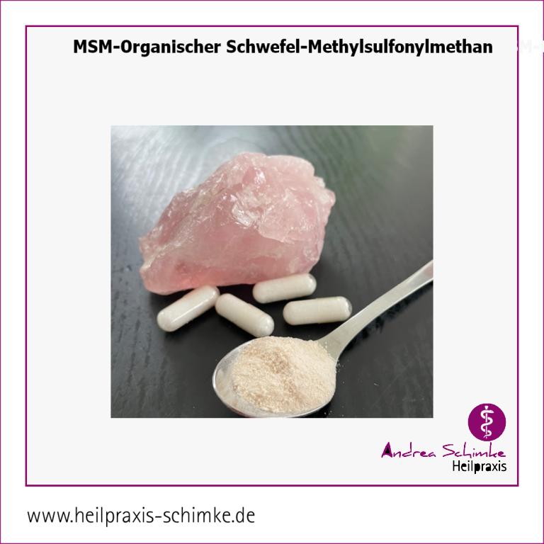 MSM-Organischer Schwefel-Methylsulfonylmethan